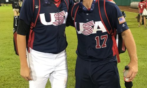 Samuel Dutton and T.R. Williams Win Gold with Team USA!